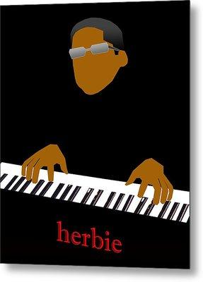 Herbie Hancock Metal Print by Victor Bailey