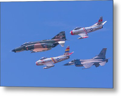 Heritage Flight Metal Print