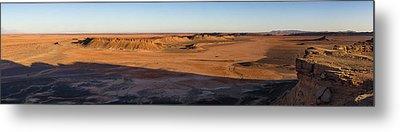 High Angle View Of Sahara Desert Metal Print