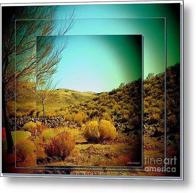 High Desert Metal Print by Bobbee Rickard
