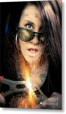 High Voltage Metal Print by Jorgo Photography - Wall Art Gallery