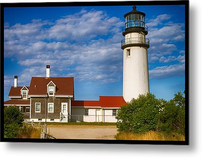 Highland Lighthouse Metal Print by Jeff Folger