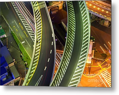 Highway Metal Print by Fototrav Print