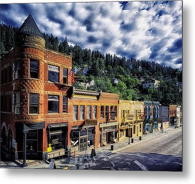 Historic Deadwood Metal Print by Mountain Dreams