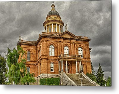 Historic Placer County Courthouse Metal Print