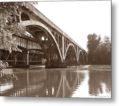 Historic Wil-cox Bridge Metal Print by Matt Taylor