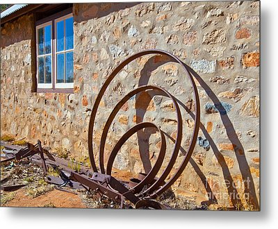 Historical Telegraph Station Alice Springs Metal Print by Bill  Robinson