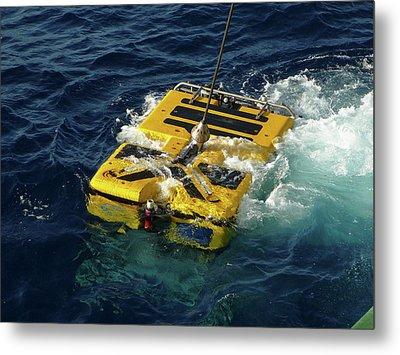 Holland Marine Rov Metal Print by B. Murton/southampton Oceanography Centre
