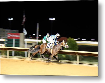 Hollywood Casino At Charles Town Races - 12129 Metal Print by DC Photographer