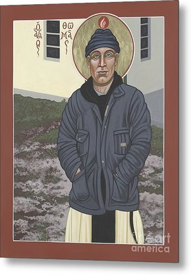 Holy World Evangelist Thomas Merton 267 Metal Print by William Hart McNichols