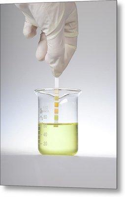 Home Urine Test Metal Print