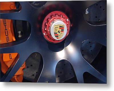 Hybrid Wheel  Metal Print by John Schneider