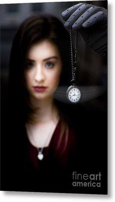 Hypnotised Woman Metal Print by Jorgo Photography - Wall Art Gallery