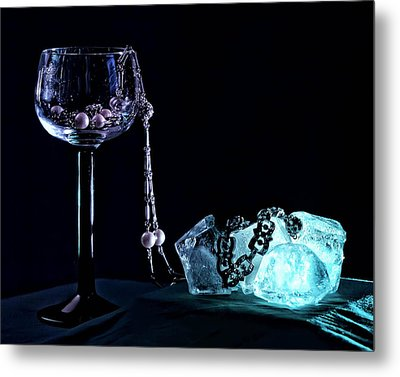 Ice Metal Print by Camille Lopez