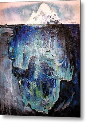 Iceberg Metal Print by Tanya Kimberly Orme
