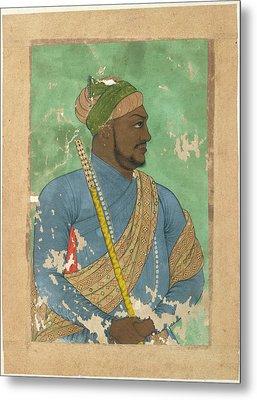 Ikhlas Khan Metal Print by British Library