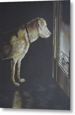 I'll Be Waiting. Metal Print by Mary Jo Jung