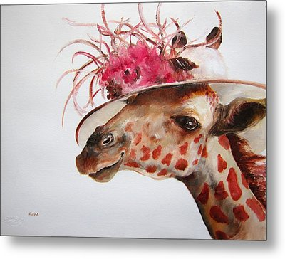 Im So Pretty Metal Print by Diane Kraudelt