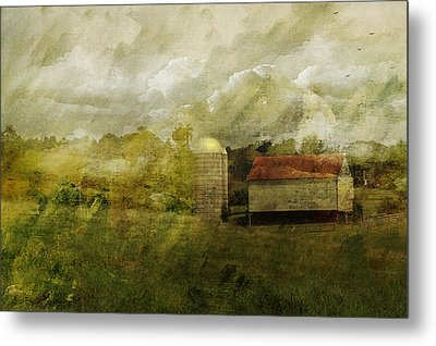 In The Distance Metal Print by Kathy Jennings