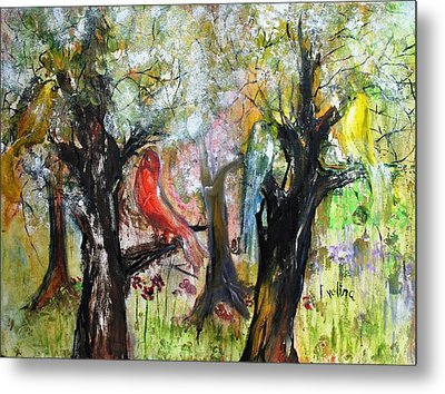 In The Woods Metal Print by Evelina Popilian