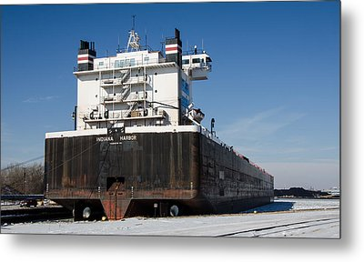 Indiana Harbor 4 Metal Print