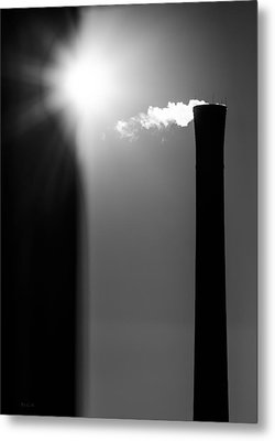 Industrial Afternoon Metal Print by Bob Orsillo