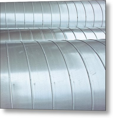 Industrial Metal Metal Print by Tom Gowanlock