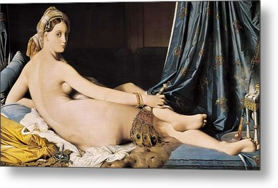 Ingres, Jean-auguste-dominique Metal Print