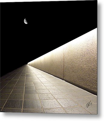 Into The Night I Metal Print by Ben and Raisa Gertsberg