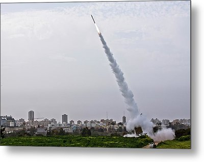 Iron Dome Metal Print by Photostock-israel