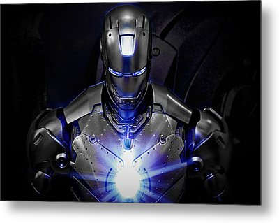 Ironman Mkii Metal Print by Suradej Chuephanich
