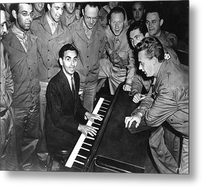 Irving Berlin (1888-1989) Metal Print