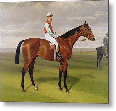 Isinglass Winner Of The 1893 Derby Metal Print by Emil Adam