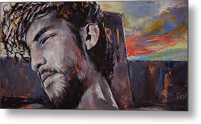 It Is Finished Metal Print by Michael Creese