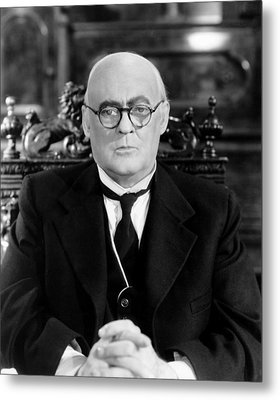 Its A Wonderful Life, Lionel Barrymore Metal Print by Everett