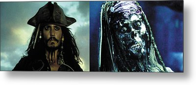 Jack Sparrow Metal Print by Jack Hood