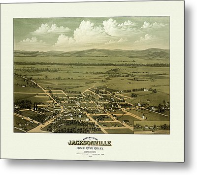 Jacksonville Oregon Metal Print by Gary Grayson