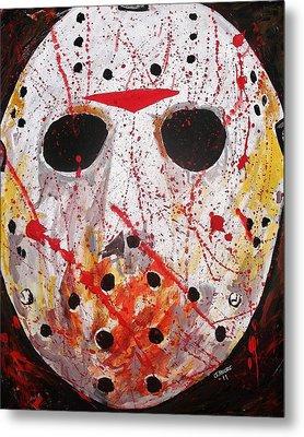 Jason Metal Print by Jeremy Moore