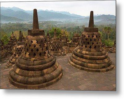 Java, Indonesia Sunrise Metal Print