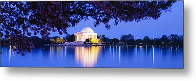 Jefferson Memorial, Washington Dc Metal Print by Panoramic Images