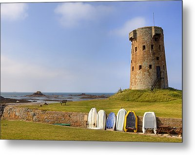 Jersey - Le Hocq Metal Print by Joana Kruse