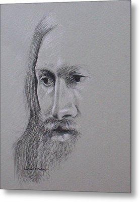 Jesus Metal Print by Kathy Weidner