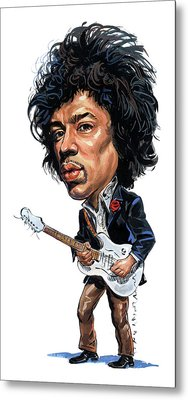 Jimi Hendrix Metal Print by Art