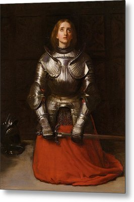Joan Of Arc  Metal Print by John Everett Millais