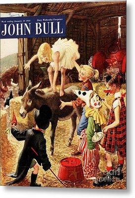 John Bull 1950s Uk Dressing Up Fancy Metal Print by The Advertising Archives