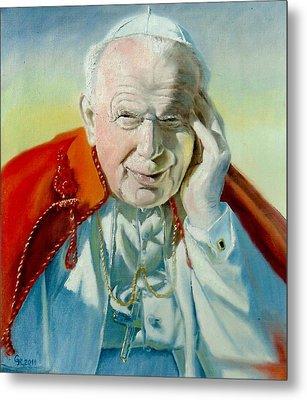 Saint John Paul II Metal Print by Henryk Gorecki