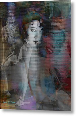 Josephine Baker  Metal Print by Lynda Payton