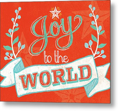 Joy To The World Metal Print by Mary Urban