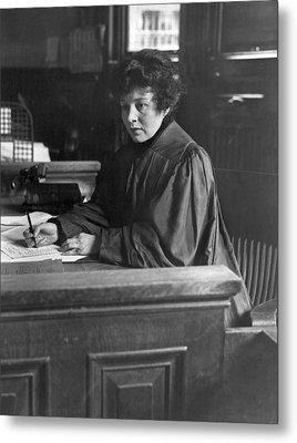 Judge Carroll Mccomas Metal Print by Underwood Archives