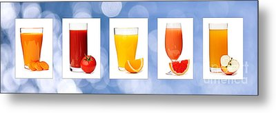 Juices Metal Print by Elena Elisseeva